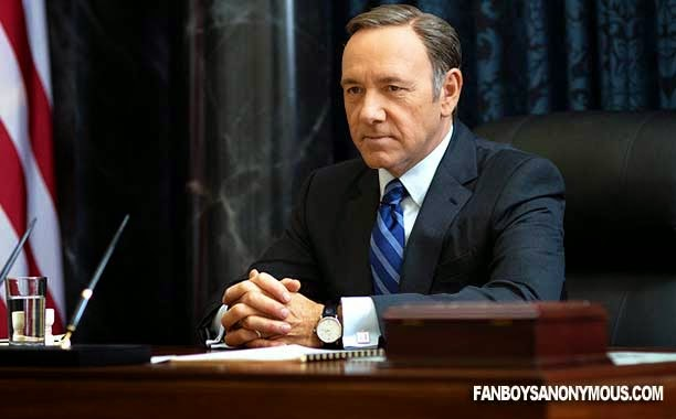 Frank Underwood Kevin Spacey President Netflix TV Show Actor
