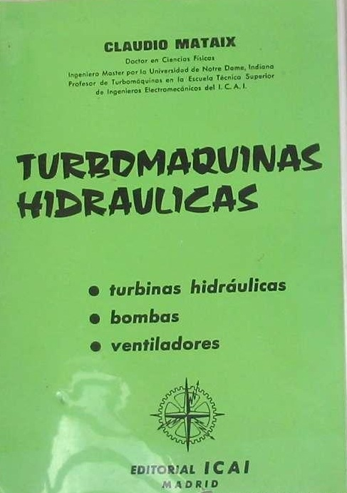 turbomaquinas hidraulicas claudio mataix