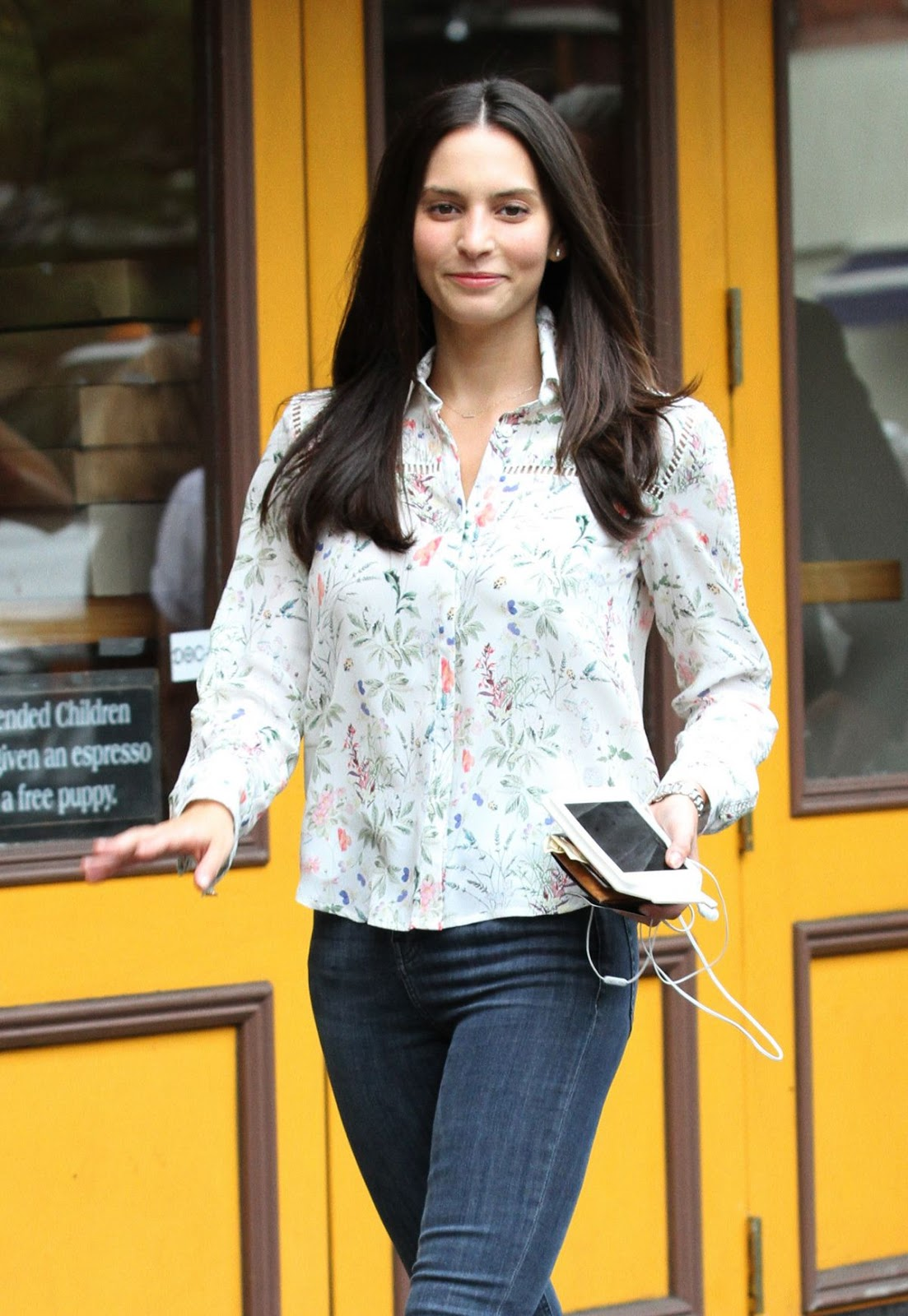 Genesis Rodriguez out and about in NYC - HDPhotos