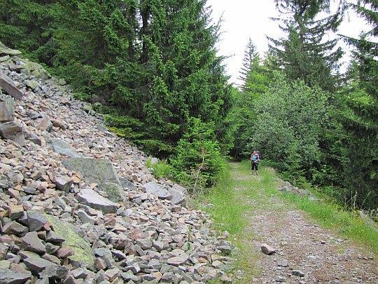 Gołoborze na stokach Baraniej hlavy (Prírodná rezervácia Štrosy).