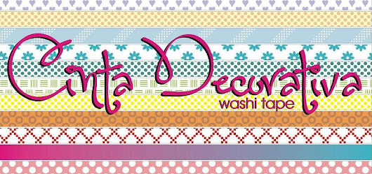 Cinta Decorativa / Washi Tape
