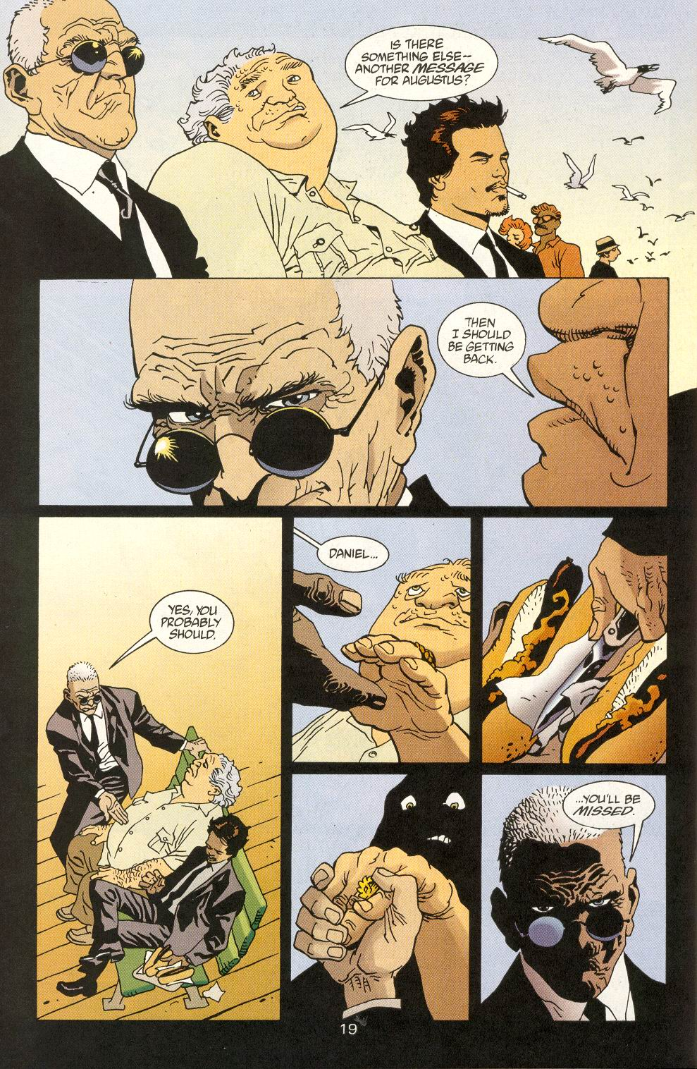 Read online 100 Bullets comic -  Issue #25 - 21