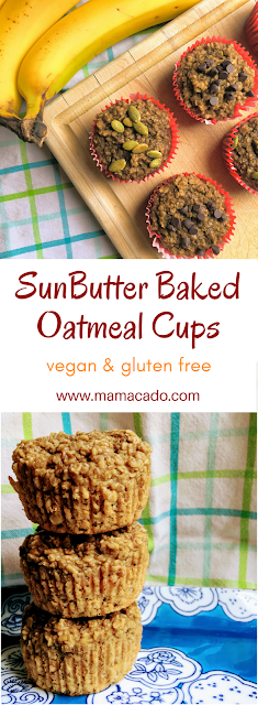 SunButter Baked Oatmeal Cups