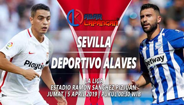 Prediksi Bola Sevilla vs Alaves Liga Spanyol