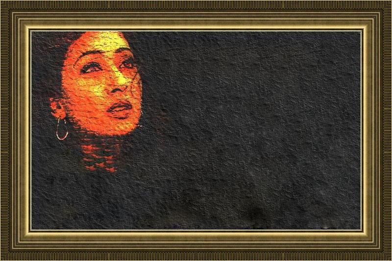 Sad Girl Read made Frame Urdu 2 line Poetry | Frames Collections