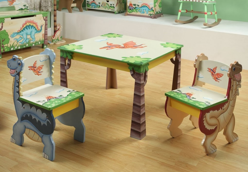 Wooden Table And Chair For Toddler