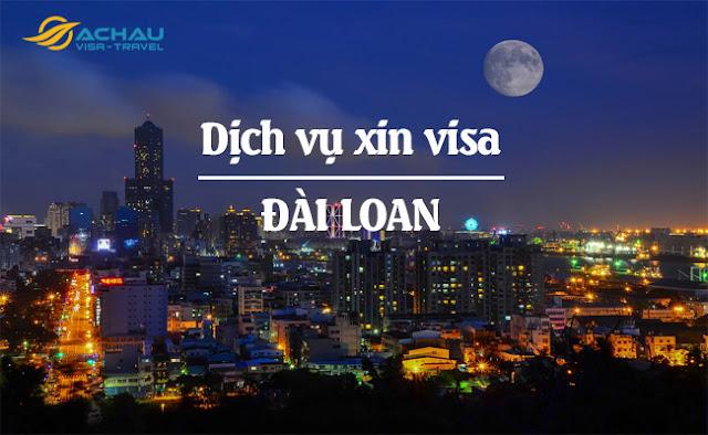 Dịch vụ xin visa Đài Loan