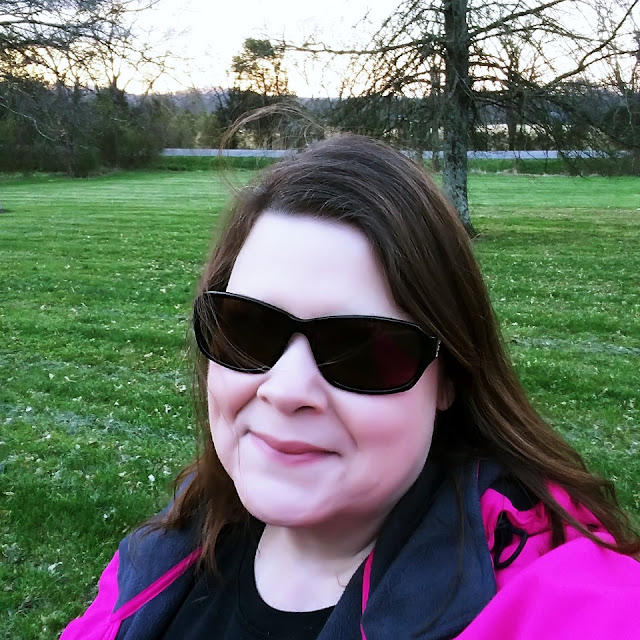 Me sporting the shades I fixed with SnapIt #ad
