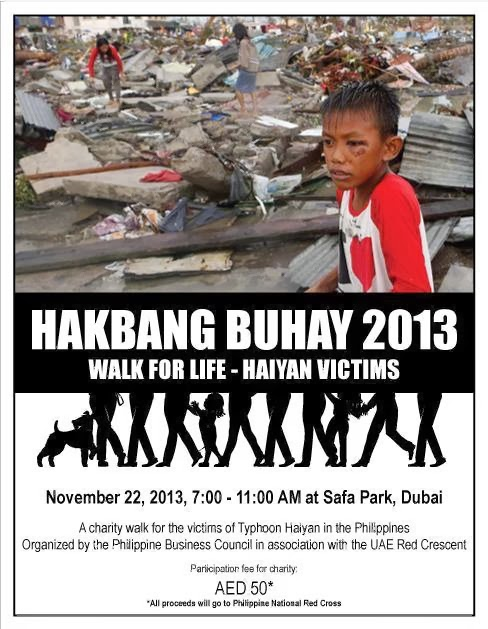 Join Hakbang Buhay - Walk of Life for Typhoon Victims