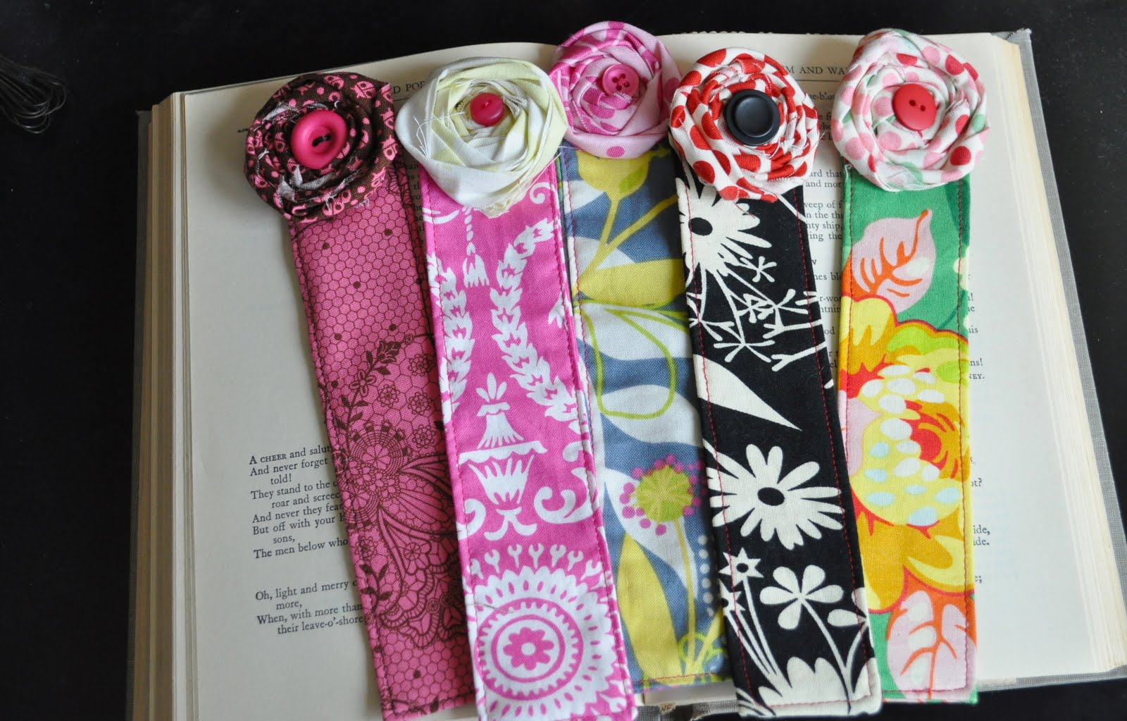 Fabric Bookmark Tutorial Teacher Appreciation Gift Idea