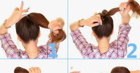 2 Minute Bubble Bun Hairstyle Tutorial Entertainment News