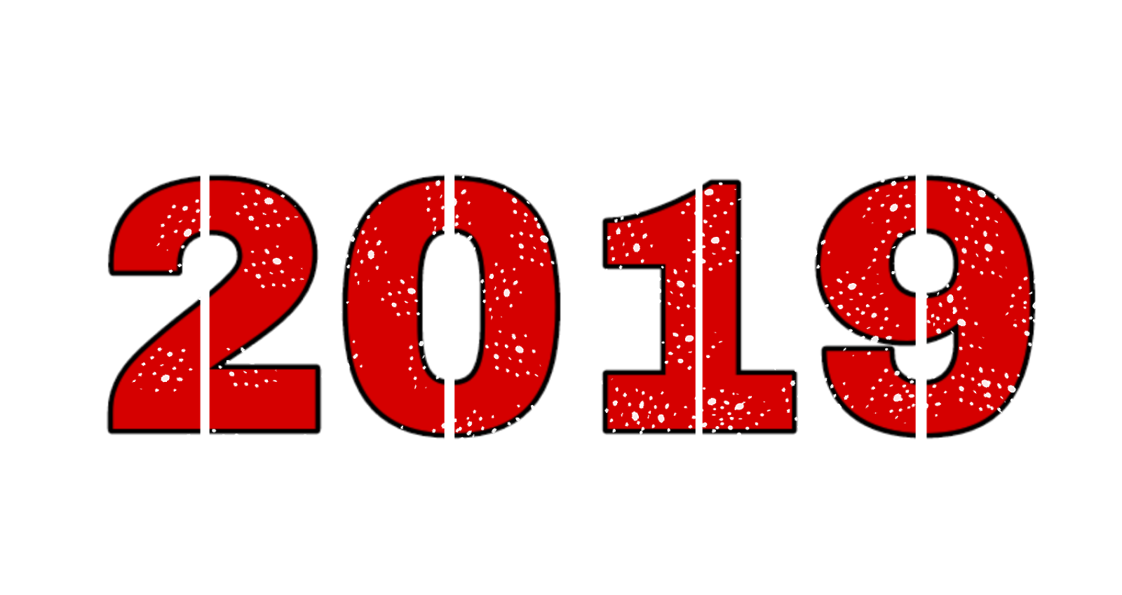 Best And Latest Happy New Year Png 2019 For Photo Editing Free