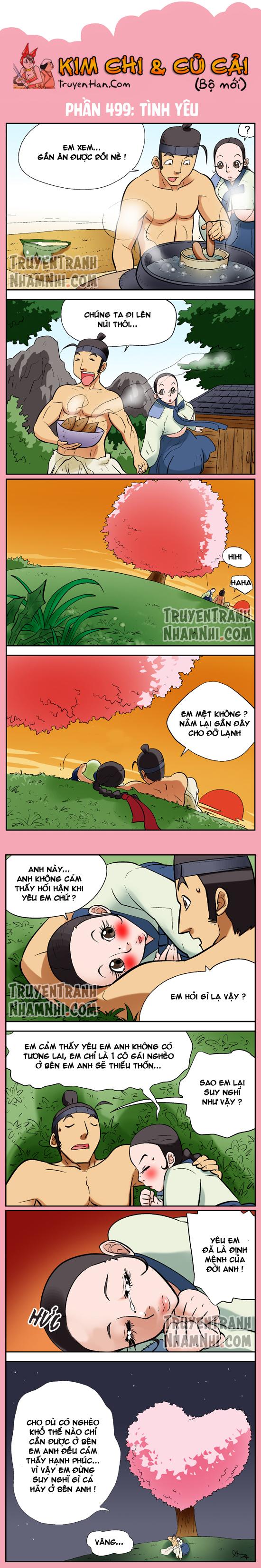 Kim Chi Và Củ Cải phần 499: Tình yêu