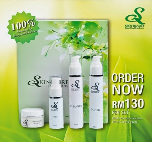 Skincare Set Seqy Beauty