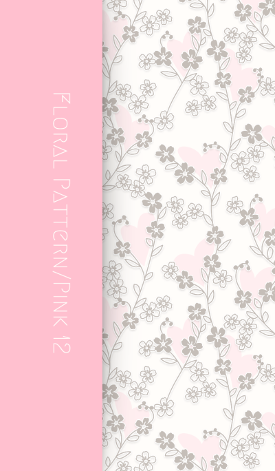 Floral Pattern[Forget-me-not]/Pink 12