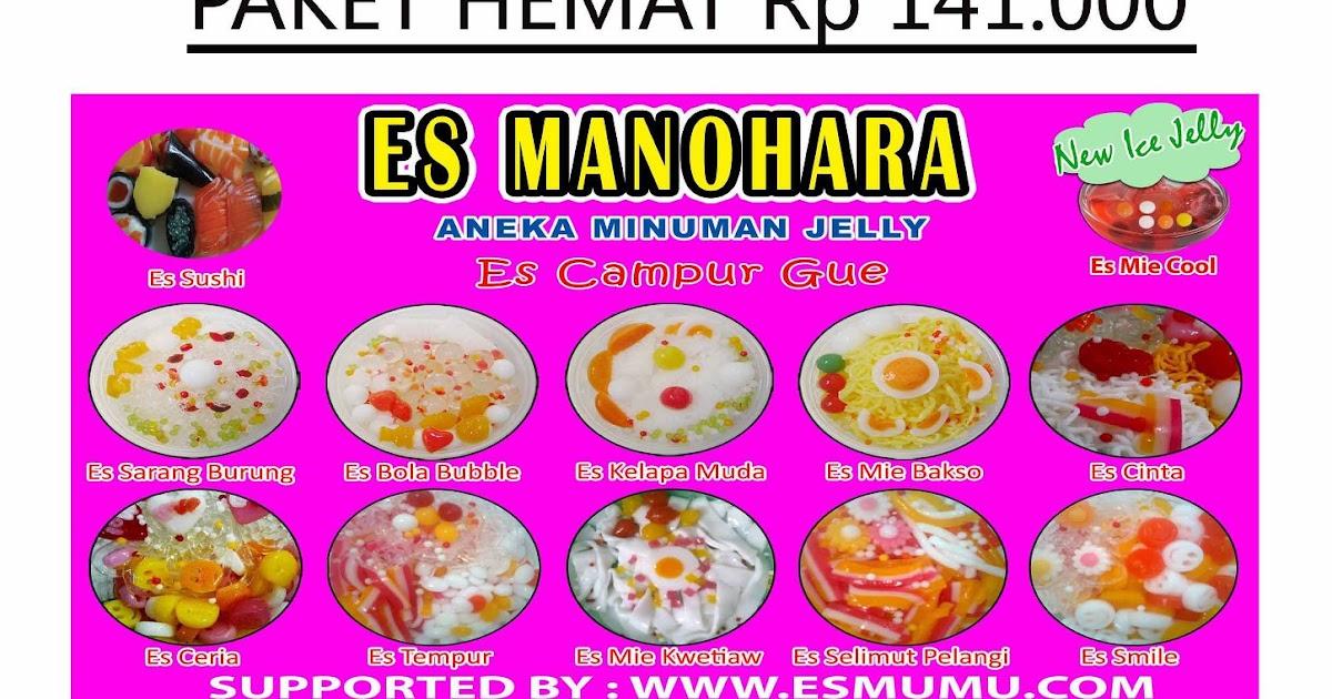 Gambar Spanduk Es Mie Jelly - contoh desain spanduk