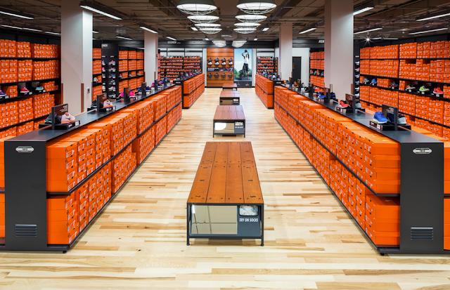 Tienda de Nike en International Drive en Orlando