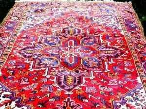 This Is A Heriz Style Persian Rug And Started My Obsession With I Am No Expert On Rugs But The Things Like About