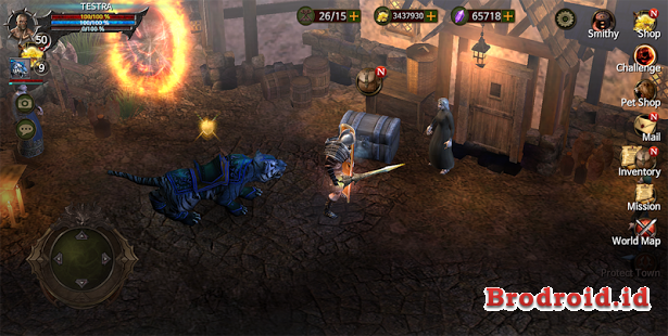 Download Game BloodWarrior v1.2.5 Mod Apk+DATA (Unlimited Money) Update Terbaru