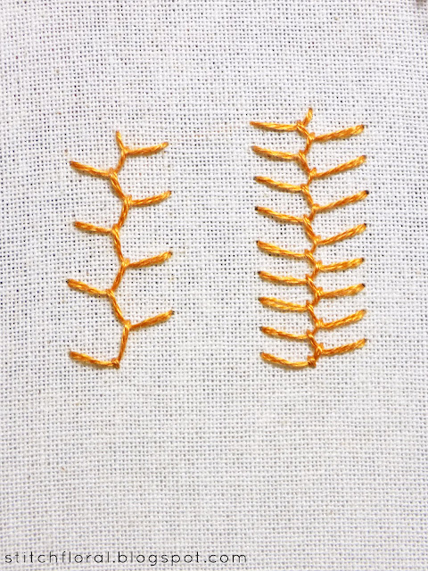 Cretan stitch tutorial