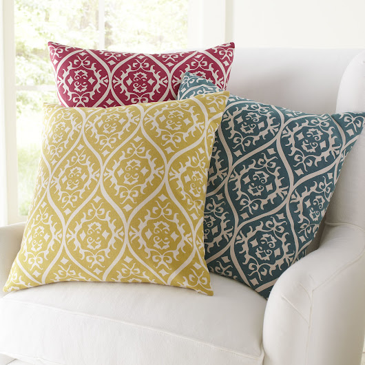 Time to Get Your Cushions Embellished with Embroidered Petal
