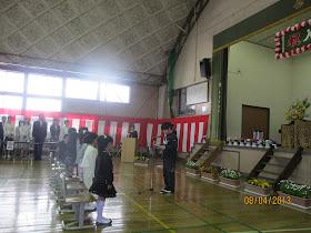 長壁真樹: 高崎市立小中學校入學式