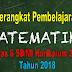 Perangkat Pembelajaran Matematika Kelas 6 SD/MI Kurikulum 2013 Tahun 2018 - Mutu SD