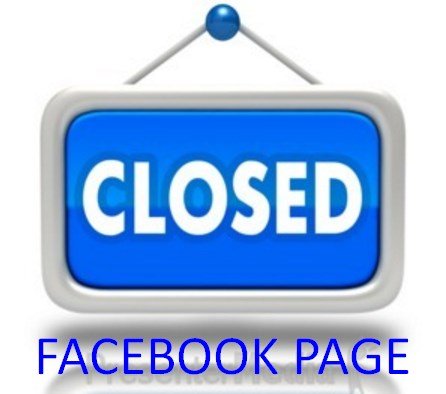 How to close a facebook page