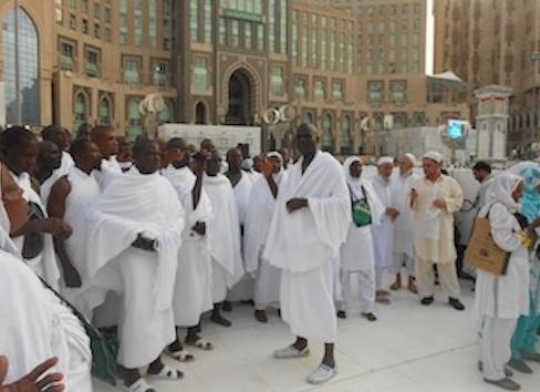 nigerian hajj pilgrims beaten saudi police