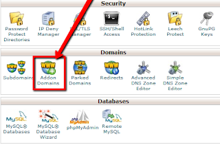 add domain di cpanel