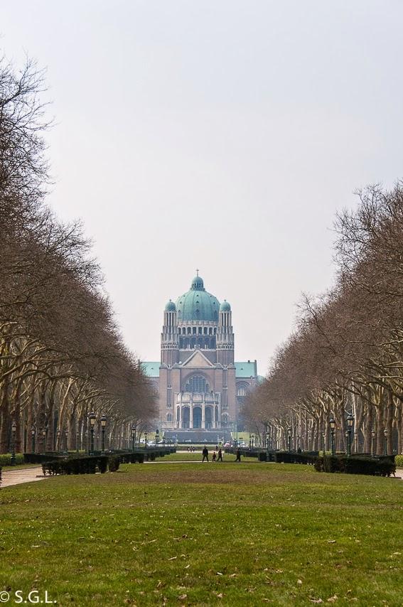 Fotografia de la Basilica del sagrado corazon de Bruselas