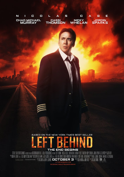 Poster of Left Behind 2014 720p Hindi BRRip Dual Audio Full Movie Download