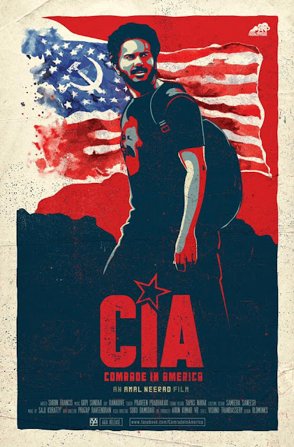 Dulquer Salmaan in Comrade in America Motion Poster - CIA  - An Amal Neerad Movie
