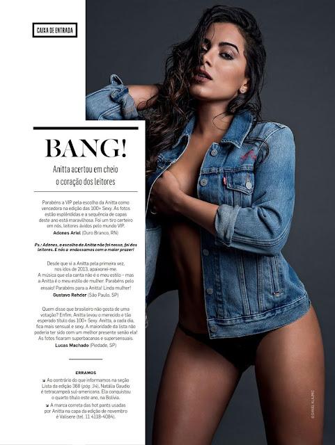 Fotos de Fernanda Motta nua pelada na Revista VIP