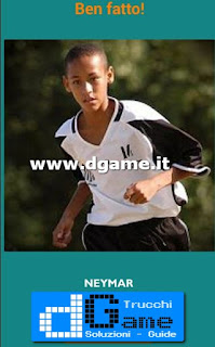 Soluzioni Guess the child footballer livello 5