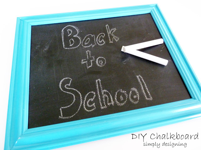 DIY Chalkboard ~ Teacher Appreciation Gift ~ simple and inexpensive!  #teacher #teacherappreciation #gift #teachergift #craft