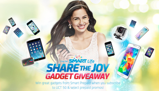 Jasmine Curtis Smith, Smart Communications Share The Joy Campaign