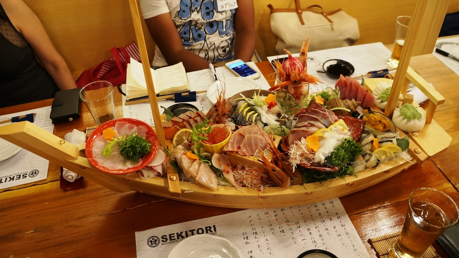 Sekitori authentic japanese restaurant wazzup pilipinas for Authentic japanese cuisine