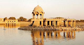 gadsisar lake,jaisalmer gadsisar lake,tourist places in jaisalmer