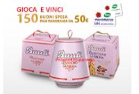 Logo Concorso ''50 Buoni motivi per scegliere Bauli'' vinci gift card da 50 euro