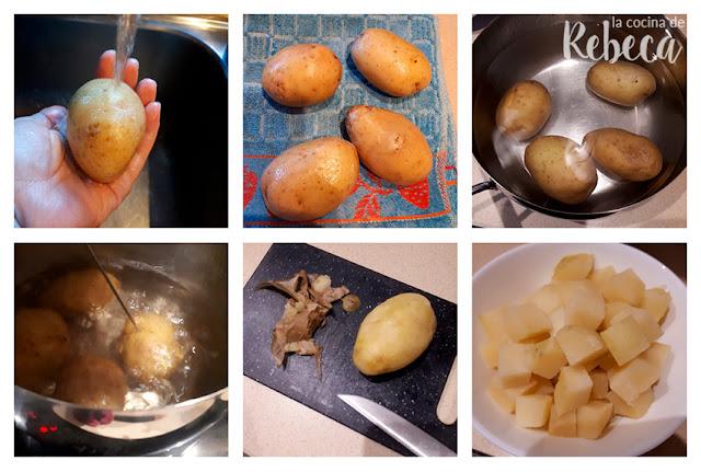 Receta de ensaladilla rusa: la patata