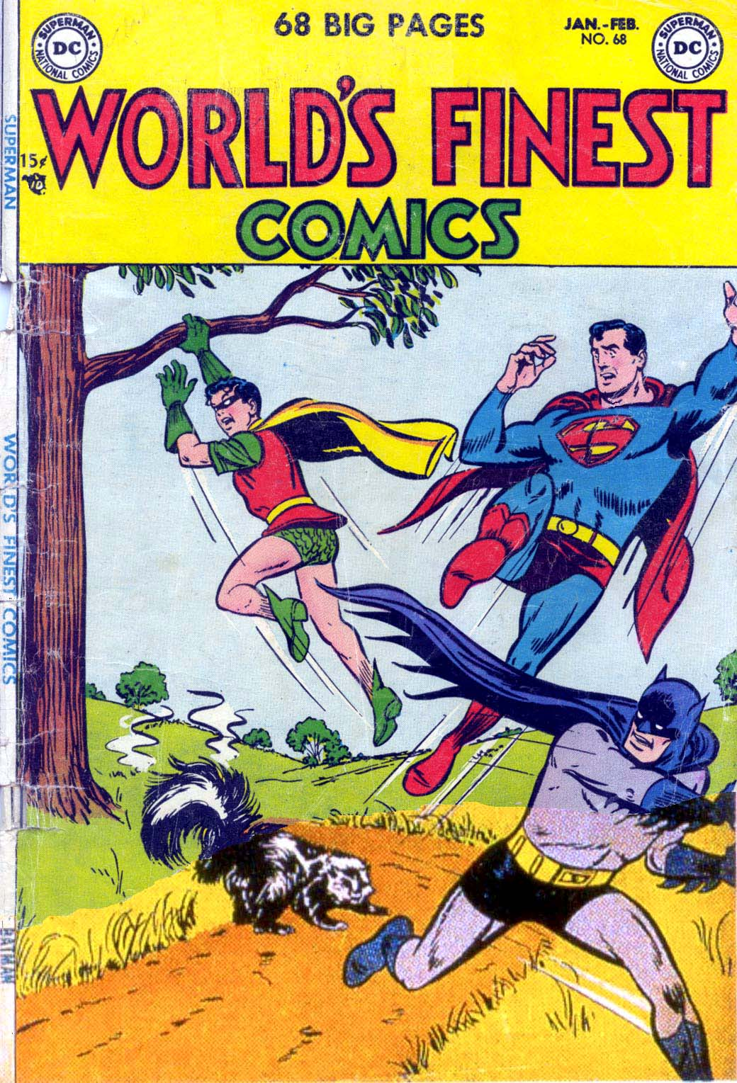 Read online World's Finest Comics comic -  Issue #68 - 1
