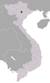 ベトナム・ヴィンフック省