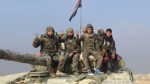 الجيش السوري يبسط سيطرته على قريتي خربة الطير والشيخ سعد في ريف درعا