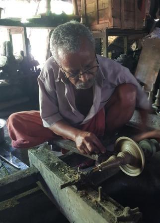 fonderie bronze inde kerala