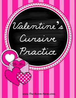 Classroom Freebies Too Valentines Day Cursive
