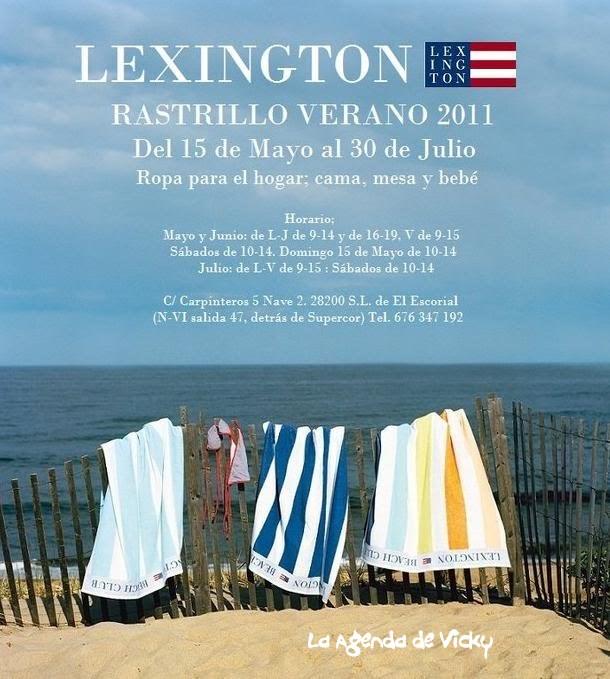 La agenda de vicky mayo 2011 - Lexington ropa de cama ...