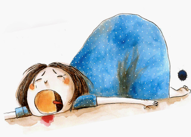 """Ilustração de Ionit Zilberman para o livro """"A Cicatriz"""", de Ilan Brenman"""