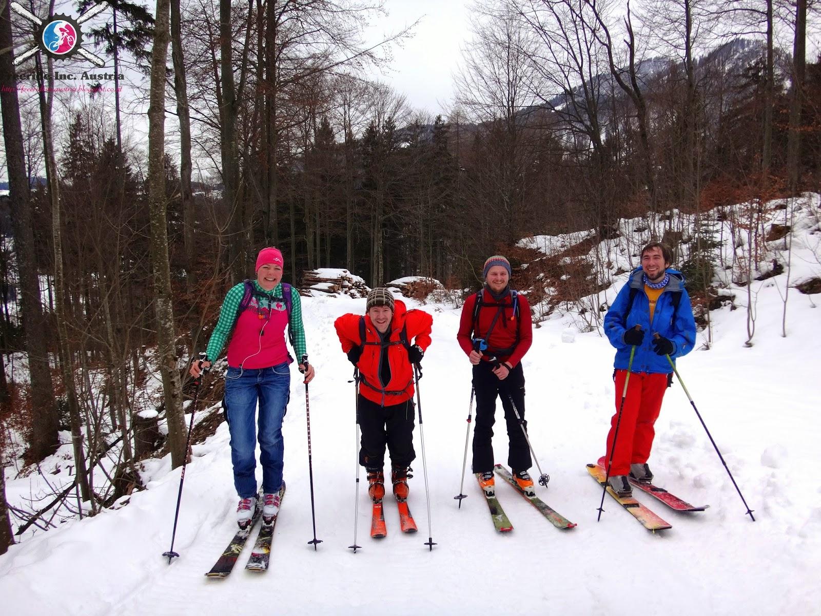Mittelschwere Skitour Mühlhörndl Sachrang