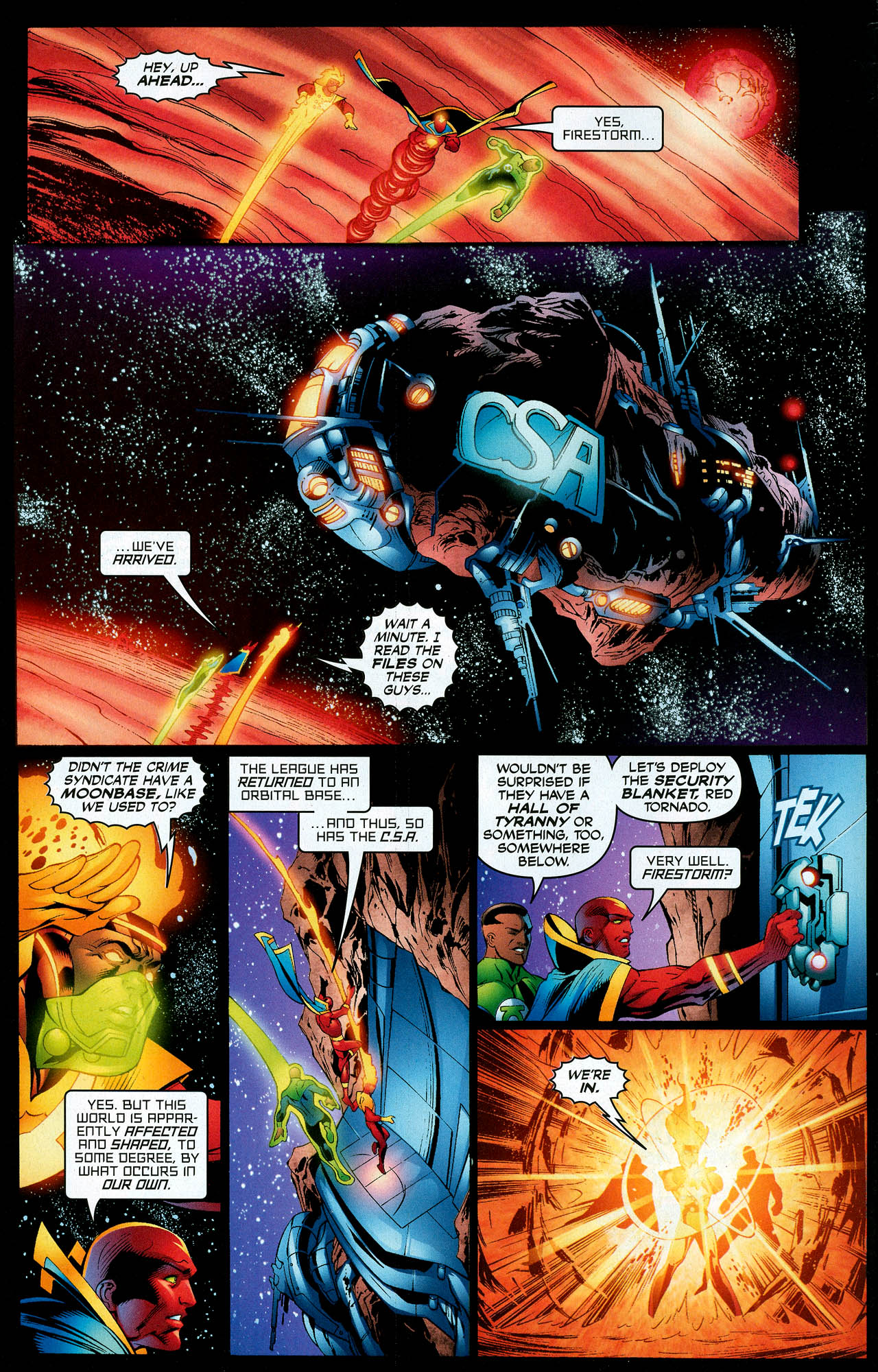 Read online Trinity (2008) comic -  Issue #12 - 6